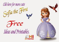 Sofia the First Free Printables.