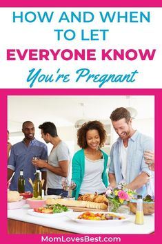 Are you unsure about when you should tell your boss, friends, or family about your pregnancy? We'll go over some information that may help you decide when to share your news. #pregnancyannouncement #pregnancyannouncementideas #pregnancyannouncementfordad #pregnancyannouncementonesie #pregnancyannouncementtoparents