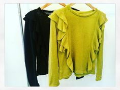 Sweaters con volados ,CARO SOSA 2016.