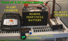 How to Make Your Own Emergency Home Battery Bank. (solar forum at permies)
