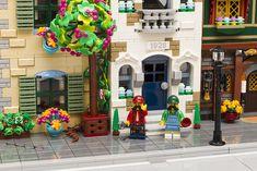 Cool Lego, Awesome Lego, Amazing Lego Creations, Lego Modular, White Building, Lego Design, Lego Friends, Legos, Lego Ideas