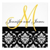 Damask Wedding Invitations, Sets, Save The Date, Thank You Cards, + More