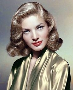 Hollywood Icons, Old Hollywood Glamour, Hollywood Stars, Classic Hollywood, Bogie And Bacall, Cinema Actress, Lauren Bacall, Iconic Movies, Celebs