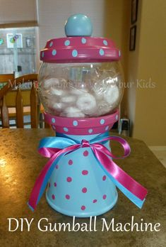 DIY Gumball Machines and Candy Dispensers - Making Memories With Your Kids