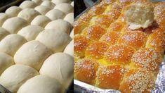 Αφράτα ψωμάκια με γάλα τύπου μαργαρίτα! Pepperoni, Margarita, Pizza, Cooking Recipes, Bread, Cheese, Food, Recipes, Brot