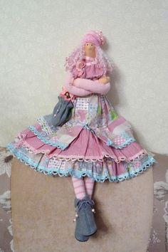 Кукла тильда Лада - купить или заказать в интернет-магазине на Ярмарке Мастеров | Кукла сделана по мотивам куклы тильда . Волосы из…