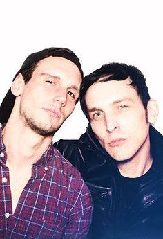 Robin Lord Taylor and Cory Michael Smith the cutest thing