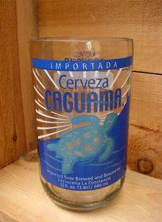 Bottle Rehab - Glassware from recycled bottles - Caguama Tumbler, $15.00 (http://www.bottlerehab.com/caguama-tumbler/)