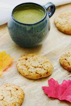 Cookies sans gluten au citron et graines de chia (vegan)