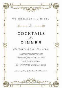 Image Result For For Dinner Free Invitation Templates Word Dinner Invitation Template Event Invitation Templates Invitation Template