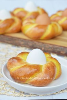 Homemade Dinner Rolls, Baking Business, Baking With Kids, Dutch Recipes, Home Food, Easter Treats, Easter Recipes, High Tea, Kids Meals