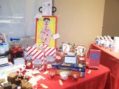Nurse-Themed Party  - Candy Buffet