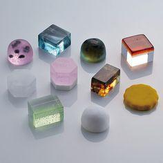 Jewel-like Japanese Sweets