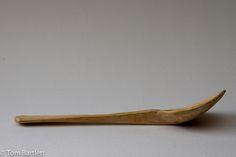 Hornbeam serving spoon