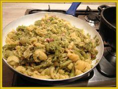 Voglio il mondo a colori: Pasta broccoli, prosciutto cotto e crema di taleggio