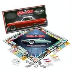 ford thunderbird 50th anniversary monopoly