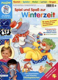 Spiel und Spaß zur Winterzeit. Gefunden in: PHILIPP die Maus, Nr. 1/2015