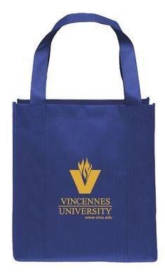 VU REUSABLE TOTE ROYAL   Old Post Bookstore Vincennes University, Lpn Nursing, Red Skelton, Surgical Tech, Reusable Tote Bags