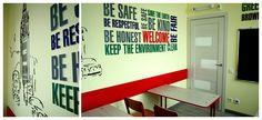 кабинет английского языка для школьников  детского центра развития Fastrackids, в г. Астана, Казхстан. Дизайн интерьера, полная разработка проекта под ключ, включая мебель, наружное и внутреннее оформление Дамиры