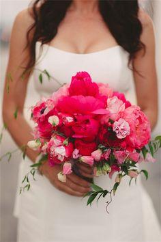 Ramos de novia a todo color chicanddeco   bouquet mariée