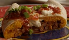 These unusual burritos are made with sweet potatoes, spices and kidney beans. They freeze well and can be deep-fried instead of baked. Sweet Potato Burrito, Sweet Potato Quesadilla, Vegetarian Appetizers, Vegetarian Recipes, Cooking Recipes, Vegetarian Dinners, Yummy Recipes, Recipies, Healthy Recipes
