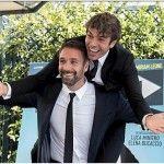 """Raoul Bova e Luca Argentero al cinema con il film """"Fratelli Unici"""""""