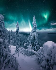 Magnificent Nightscapes of Lapland Finland by Matti Ruuska