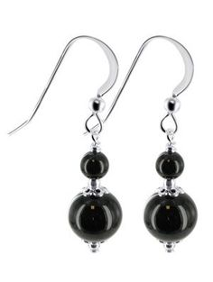 Sterling Silver Black Onyx Beads Earrings Made with Swarovski Elements Gem Avenue. $9.99. Made with Swarovski Elements. Length of this Earrings is 1.25 Inch. We carry matching Necklace SKU # SCNK210 and Bracelet SKU # SCBR213. Gem Avenue sku # SCER480. Made in .925 Sterling Silver. Save 67%!
