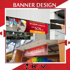 Printed banners are perfect medium to reach out to a bigger, newer, returning or any other type of audience you are trying to target, all at once. With the right messaging and clear design, banners take your brand visibility to another level and can increase your sales overnight. #banner #design #logo #printing #graphicdesign #advertising #indoor #Outdoor #sticker #bunting #bannermurah #bannerdesign #stiker #percetakan #advertising #flyers #banners #brochure #designer #poster #marketing Advertising Flyers, Ipoh, Banner Printing, Banner Design, Bunting, Banners, Indoor Outdoor, Target, Sticker