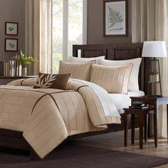 Home Essence Lancaster 4-Piece Microsuede Comforter Set $84