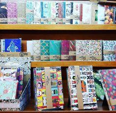 Babei nas novas estantes repletas de cadernos Jorge&Fille no #PontodasLetras - todos super e exclusivos do jeito que #colaadora  #colavisita