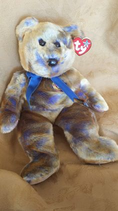 8a72b51c5ab From the Ty Beanie Buddies collection. Plush stuffed animal collectible  toy. Mint with mint