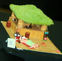 Gingerbread House-Tiki hut by S*Flores, via Flickr