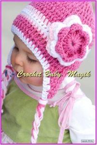 Resultado de imagen para gorros tejidos a crochet para niñas paso a paso bd140f94b95b