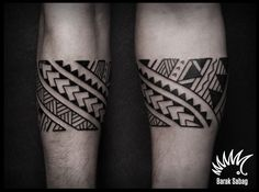 Polynesian armband tattoo by Barak Sabag kipodd@gmail.com