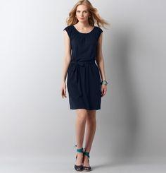 Loft - LOFT Dresses - Shirred Neck Peasant Dress