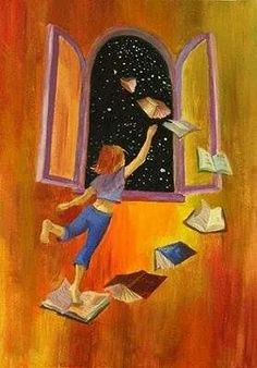 i love books Art And Illustration, Illustrations, I Love Books, My Books, Reading Art, World Of Books, Book Images, Book Nerd, Cute Wallpapers