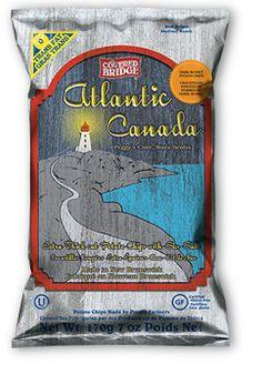 Atlantic Canada's Choice Thick Cut Atlantic Canada, Covered Bridges, Potato Chips, My Photos, Snack Recipes, Potatoes, My Love, Products, Potato Chip