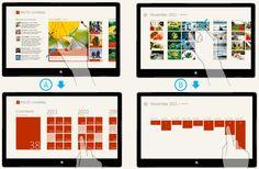 Design case study: iPad to Windows 8 Metro style app