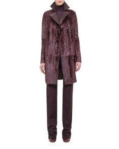 Coat,+Pants+&+Sweater+by+Akris+at+Neiman+Marcus.