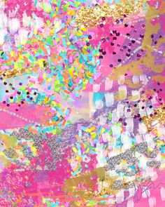 """The Light in Everything"" Fine Art Print – The Confetti Cool Backgrounds, Wallpaper Backgrounds, Iphone Wallpaper, Confetti Wallpaper, Summer Backgrounds, Cute Patterns Wallpaper, Background Patterns, Confetti Bars, Soft Grunge"