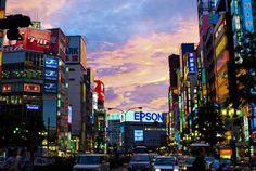The night ain't dark in Tokyo!