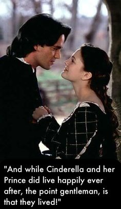 Ever After. Watched this again this morning. Love this movie! This is other of my two favorite quotes from it.