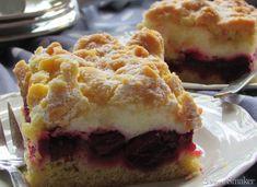 Ciasto z wiśniami Pie, Sweet, Recipes, Food, Torte, Candy, Cake, Fruit Cakes, Recipies