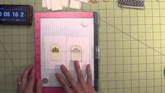 My Sweet Petunia: 10 Tags in 10 Minutes - Stamping Die Cuts with the MISTI