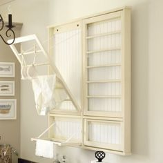 Drying rack for laundry room