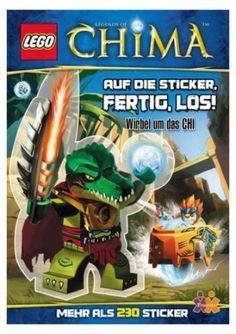 LEGO Legends of Chima. Auf die Sticker  fertig  los!  http://www.meinspielzeug24.de/lego-legends-of-chima-auf-die-sticker-fertig-los  #Unisex #Bücher, #SpieleBasteln