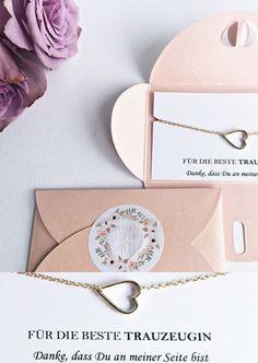 Geschenk für Trauzeugin, Freundschaftsarmband für die Brautjungfern / gift idea for the braidsmaids, bracelet made by Lillyville via DaWanda.com