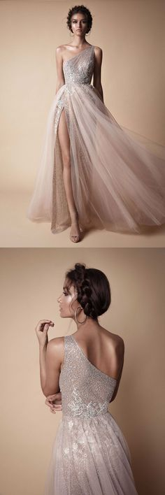 Kikiprom are the best places for you to buy affordable 2018 one shoulder prom dresses tulle sequin with slit We offer cheap yet elegant 2018 one shoulder prom dresses tulle sequin with slit for petites and plus sized women. Trendy Dresses, Elegant Dresses, Plus Size Dresses, Nice Dresses, Girls Dresses, Flower Girl Dresses, Prom Dresses, Formal Dresses, Wedding Dresses