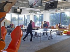 linkedin-sunnyvale-office-design-5 linear shift hexagon